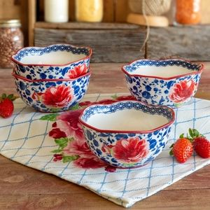 The Pioneer Woman Heritage Floral 2-Piece Bowl Set